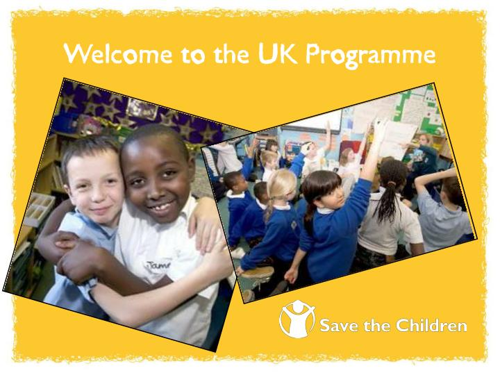 Welcome to the UK Programme