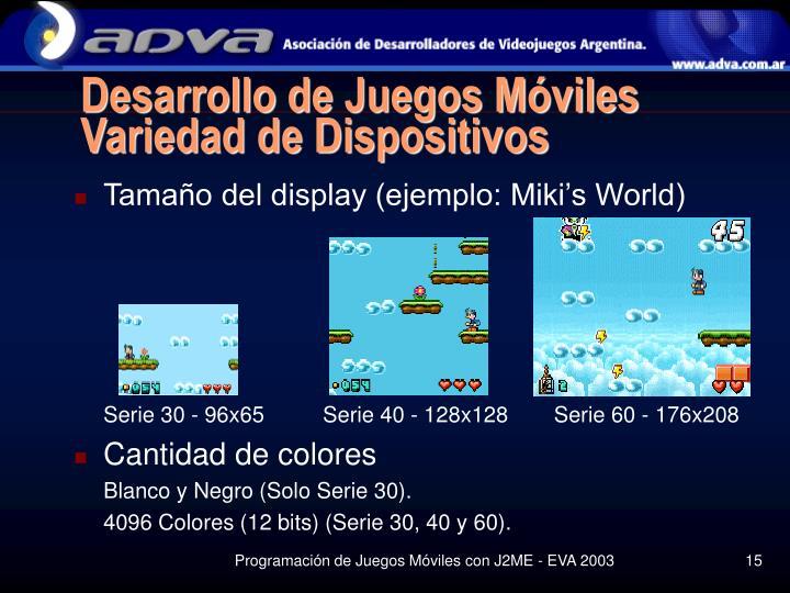 Desarrollo de Juegos Móviles