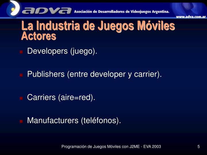 La Industria de Juegos Móviles