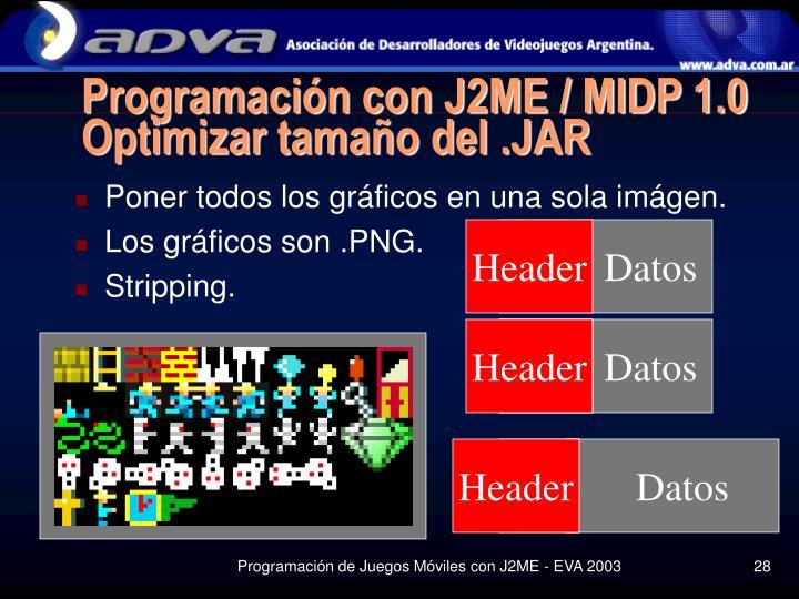 Programación con J2ME / MIDP 1.0