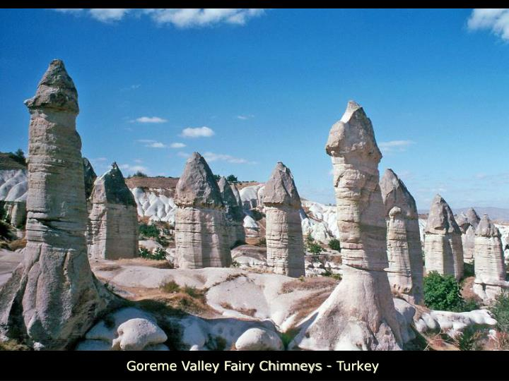 Goreme Valley Fairy Chimneys - Turkey
