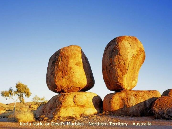 Karlu Karlu or Devil's Marbles - Northern Territory - Australia
