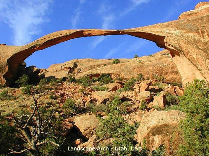 Landscape Arch - Utah, USA