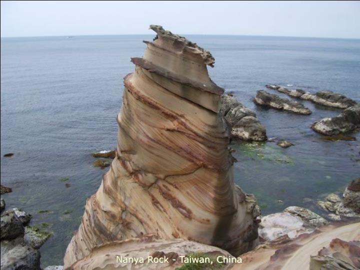 Nanya Rock - Taiwan, China