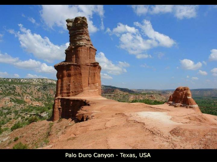 Palo Duro Canyon - Texas, USA