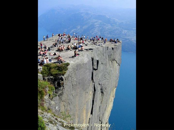 Prekestolen - Norway