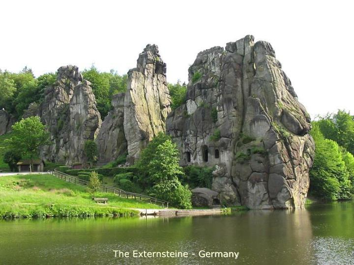 The Externsteine - Germany
