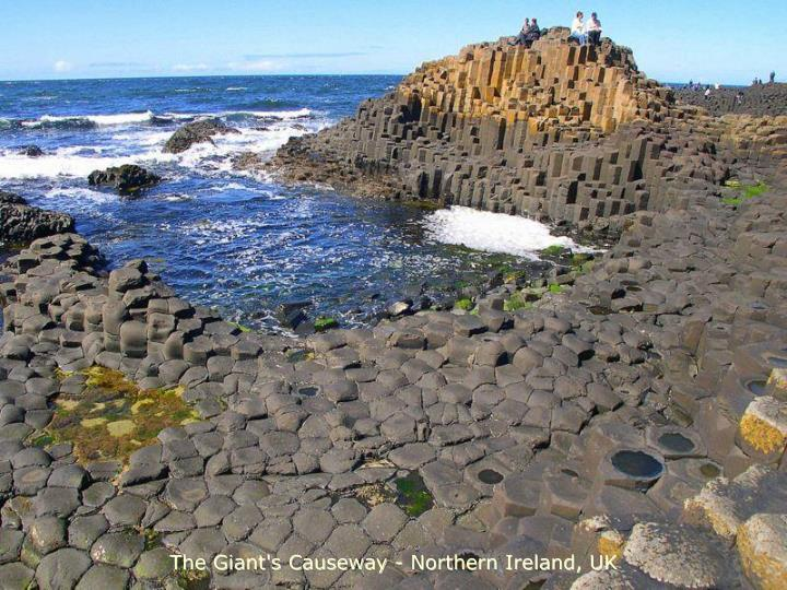The Giant's Causeway - Northern Ireland, UK