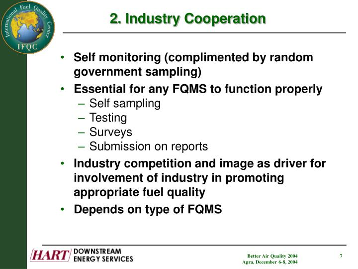 2. Industry Cooperation
