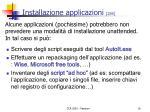 installazione applicazioni 2 6