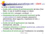 unattended sourceforge net client 2 4