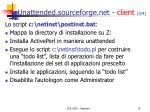 unattended sourceforge net client 3 4