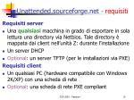 unattended sourceforge net requisiti