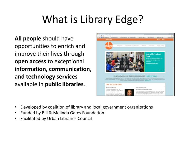 What is Library Edge?