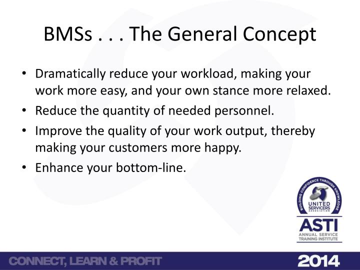 Bmss the general concept