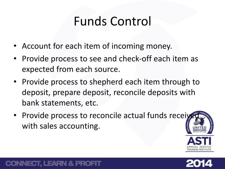 Funds Control