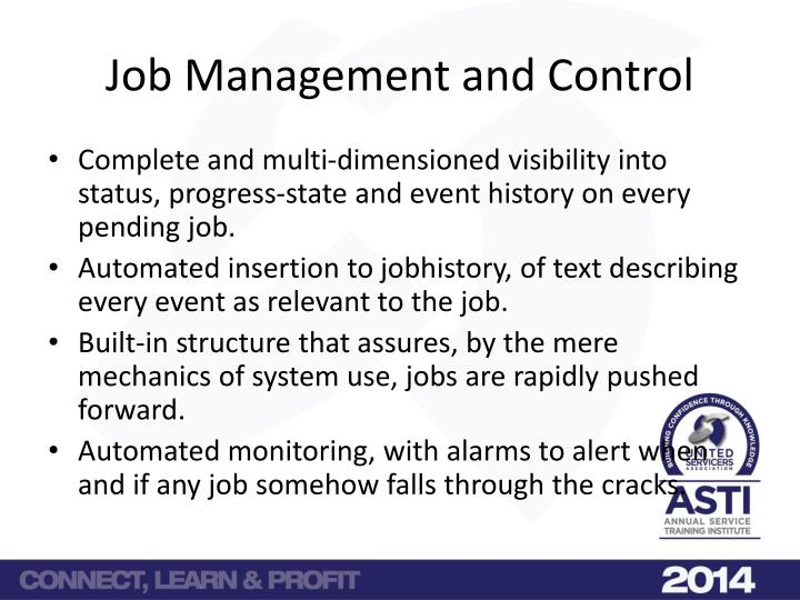 Job Management and Control