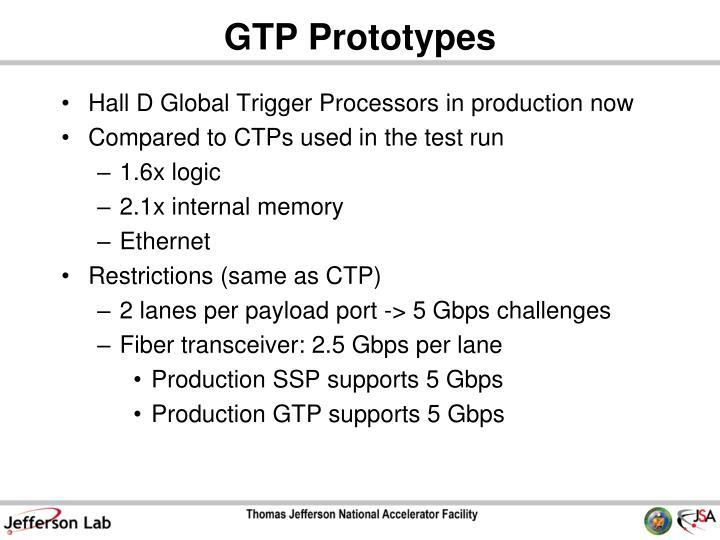 GTP Prototypes