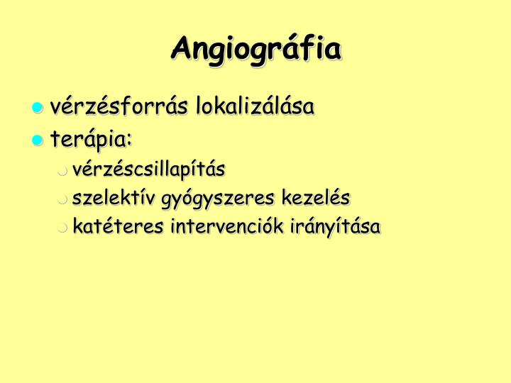 Angiográfia