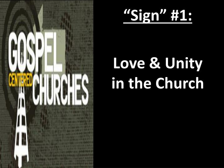 """Sign"" #1:"