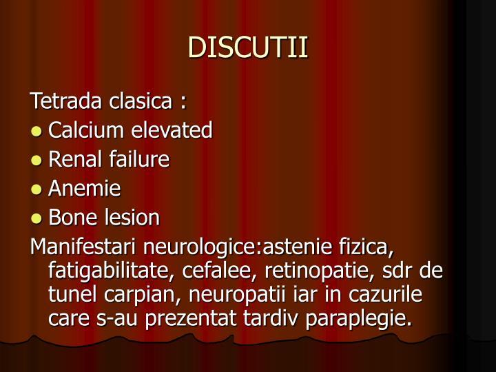 DISCUTII
