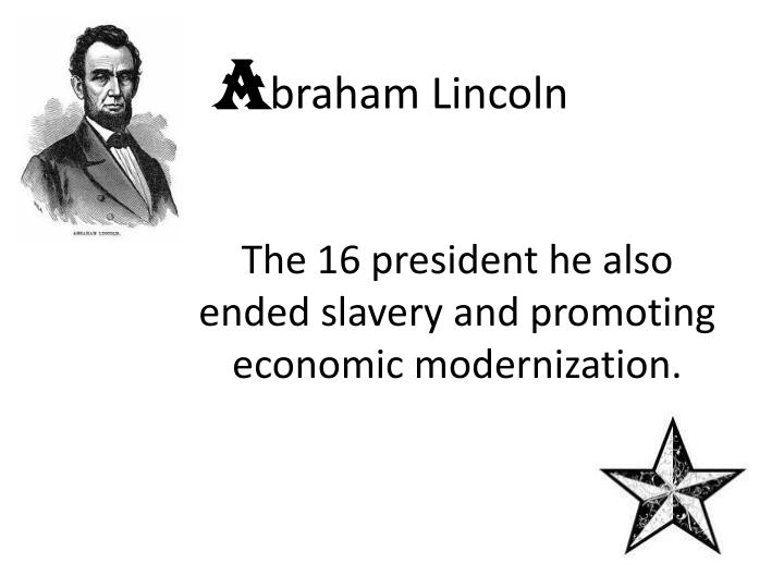 a braham lincoln