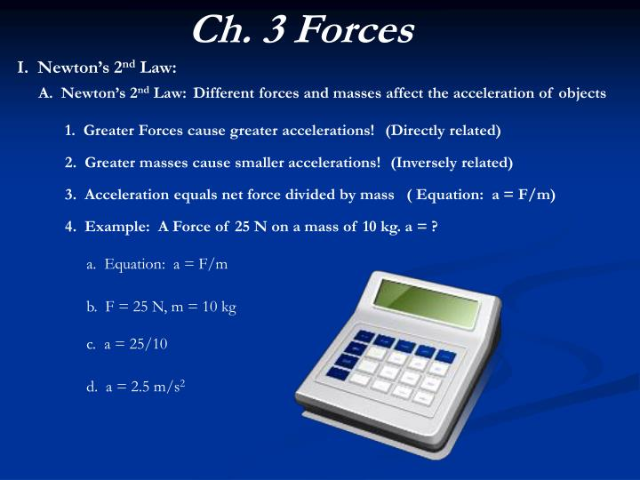 Ch. 3 Forces