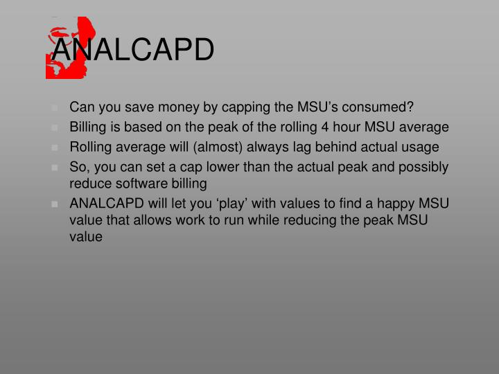 ANALCAPD