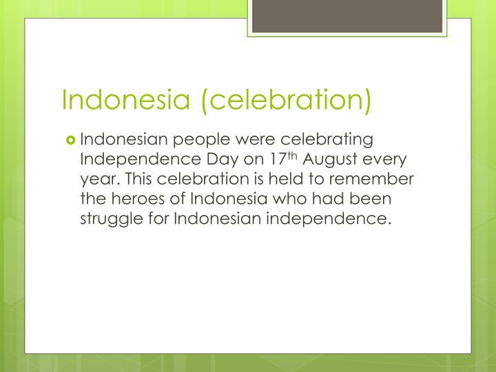 Indonesia (celebration)