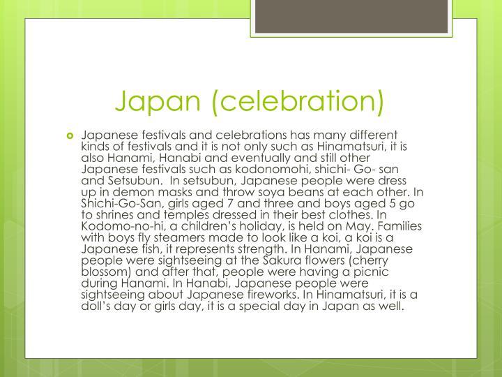 Japan (celebration)