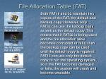 file allocation table fat3