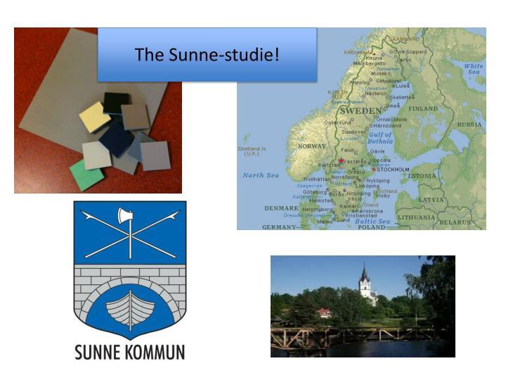 The Sunne-studie!
