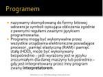 programem