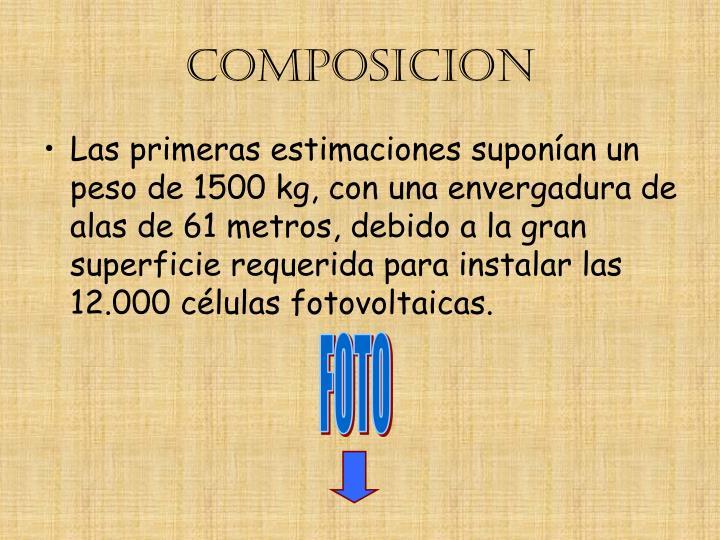 COMPOSICION