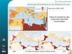 des tendances alarmantes encore plus de pressions sur les ressources en eau