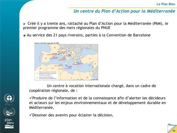 Le Plan Bleu