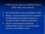 2 g vencesiz anayasal haklar evresi 1876 1924 aras d nem