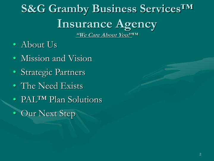 S&G Gramby Business Services™