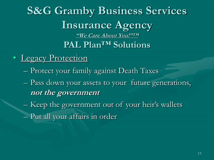 S&G Gramby Business Services