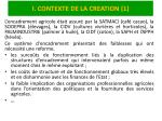i contexte de la creation 1