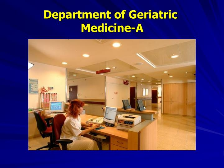 Department of Geriatric