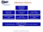 cam i board of directors