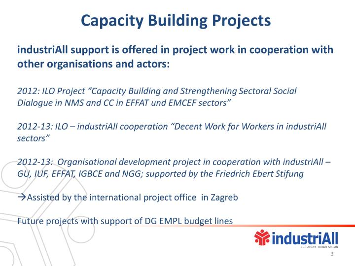 Capacity Building Projects