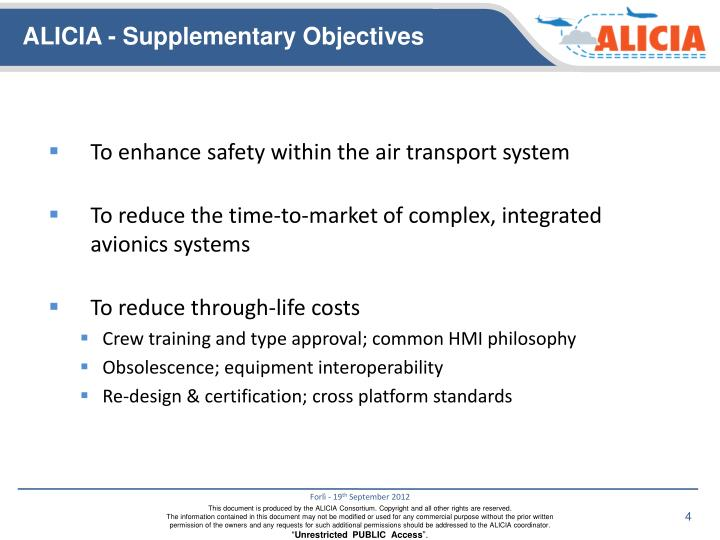 To enhance safety within the air transport system