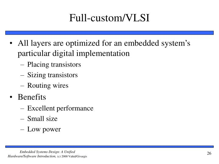 Full-custom/VLSI