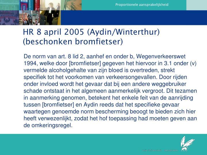 HR 8 april 2005 (Aydin/Winterthur)