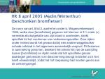 hr 8 april 2005 aydin winterthur beschonken bromfietser1