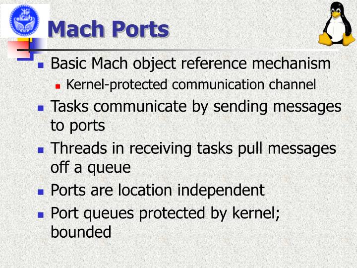 Mach Ports
