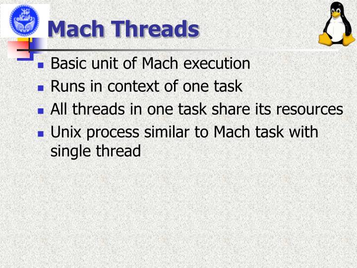 Mach Threads