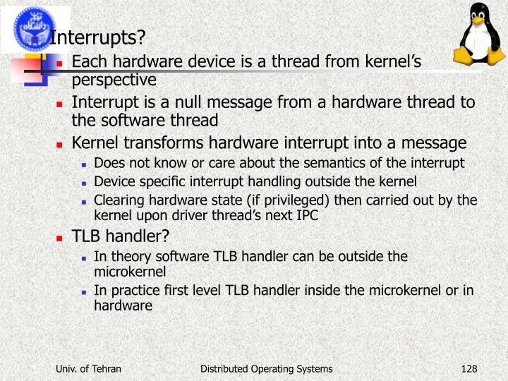 Interrupts?